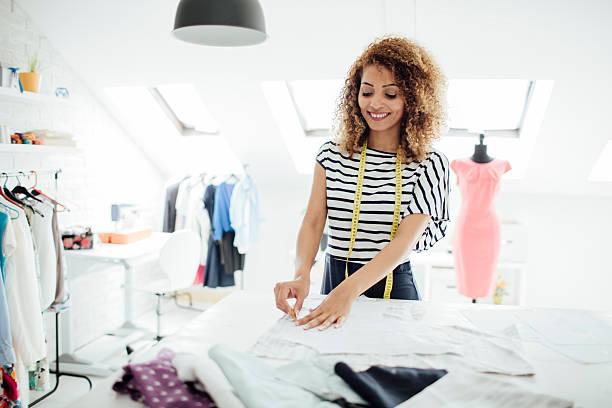 Combles aménagés en atelier de couture